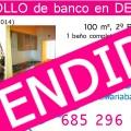 Piso apartamento en venta de banco en DENIA