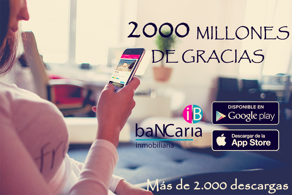 La app de inmobiliaria bancaria ya tiene m s de 2000 descargas inmobiliaria bancaria - Aplicaciones para buscar piso ...