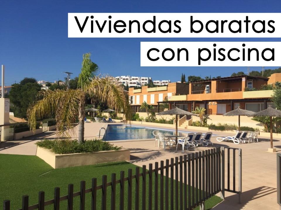 Viviendas baratas con piscina a la venta inmobiliaria for Piscinas rigidas baratas