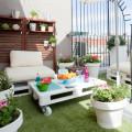 terraza con plantas para verano