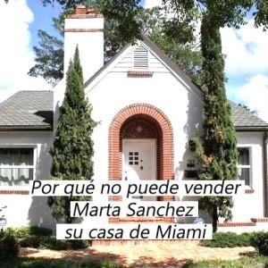 Casa en venta de marta sanchez miami p