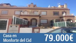 Unifamiliar en venta en Monforte Del Cid de 108 m²