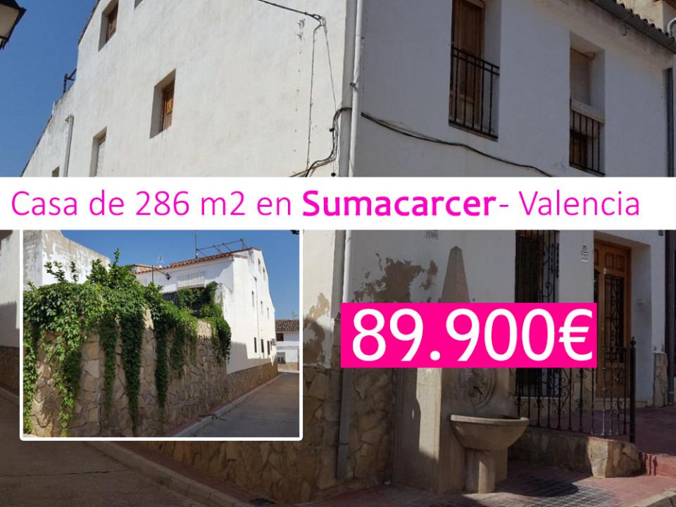 Casa en Sumacarcer Valencia de banco