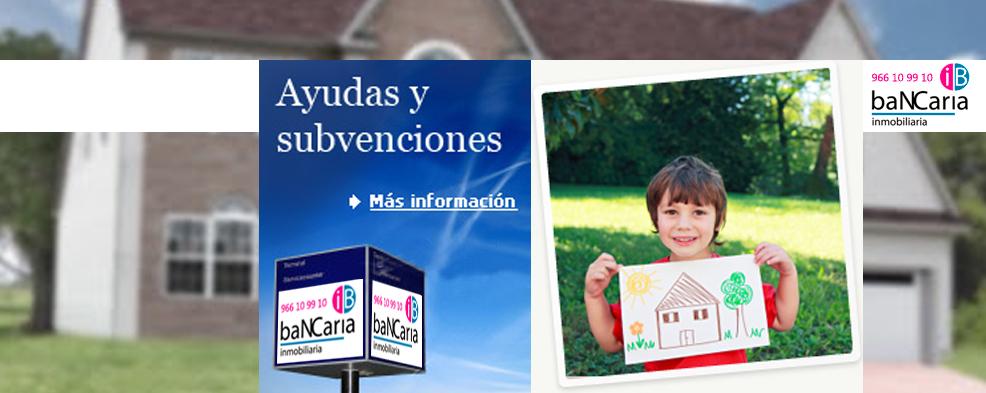 Ayudas y Subvenciones casa pisos vivienda alquiler compra generalitat valenciana