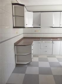 Cocina piso de banco en Elche