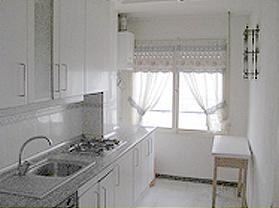 Cocina piso de banco en novelda