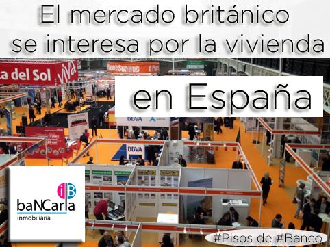 El mercado británco se interesa por la vivienda en España.