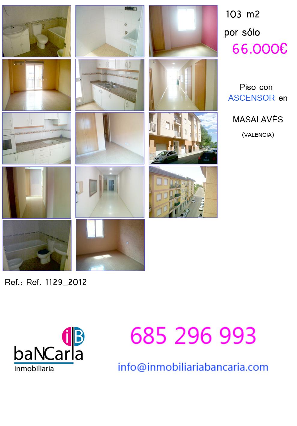 Fotos piso nuevo de banco en masalav s valencia 103 m2 ahora antes con - Pisos nuevos en valencia ...