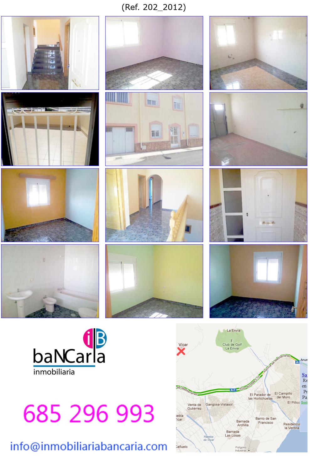 Fotos de casa unifamiliar en vicar almeria terraza for Pisos de bancos en almeria