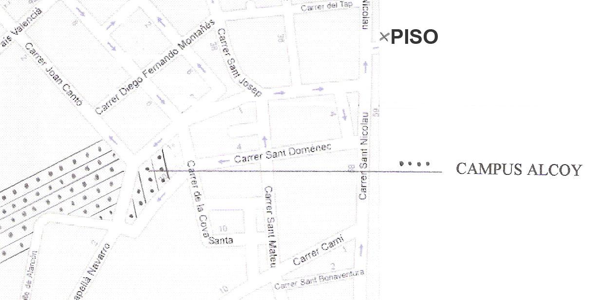 Piso-estudio-alcoy-Mapa