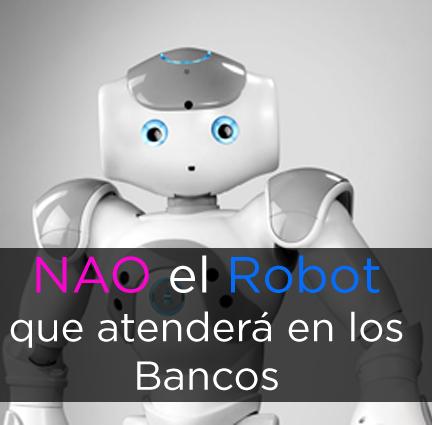 Nao el robot que atenderá en los Bancos Inmobiliaria Bancaria