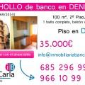 Piso de Banco a la venta en Denia