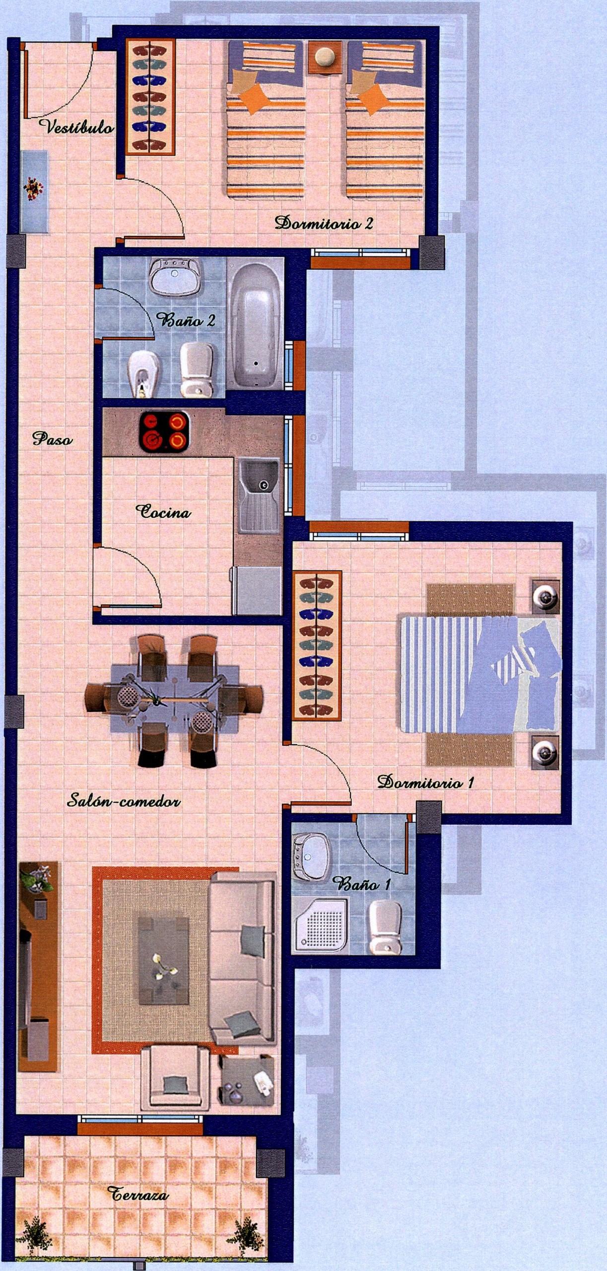 Piso de Banco Almoradi Tipo B D G I Alicante Orihuela Banco Malo La Sareb
