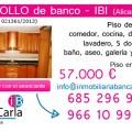 Piso de Banco a la Venta en Ibi (Alicante) de Inmobiliaria Bancaria