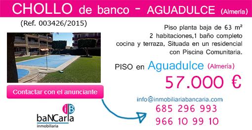 Piso de banco a la venta en Aguadulce inmobiliaria bancaria p facebook