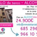 Piso de banco a la venta en Alcoy (Alicante) inmobiliaria bancaria