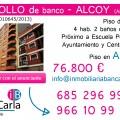 Piso de banco a la venta en Alcoy (Alicante) inmobiliaria p