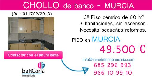 Piso de banco a la venta en Murcia inmobiliaria bancaria p facebook