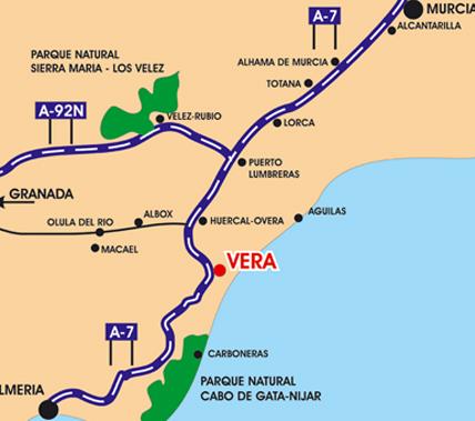 Piso en Vera (Almeria)