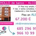 Piso en venta de banco en Alcoy inmobiliaria p