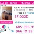 Piso en venta de banco en Huércal-Overa-Almería
