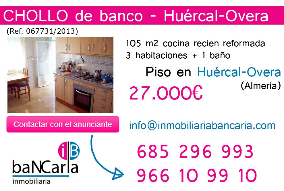 Pisos en venta en huercal overa inmobiliaria bancaria for Pisos de bancos en almeria