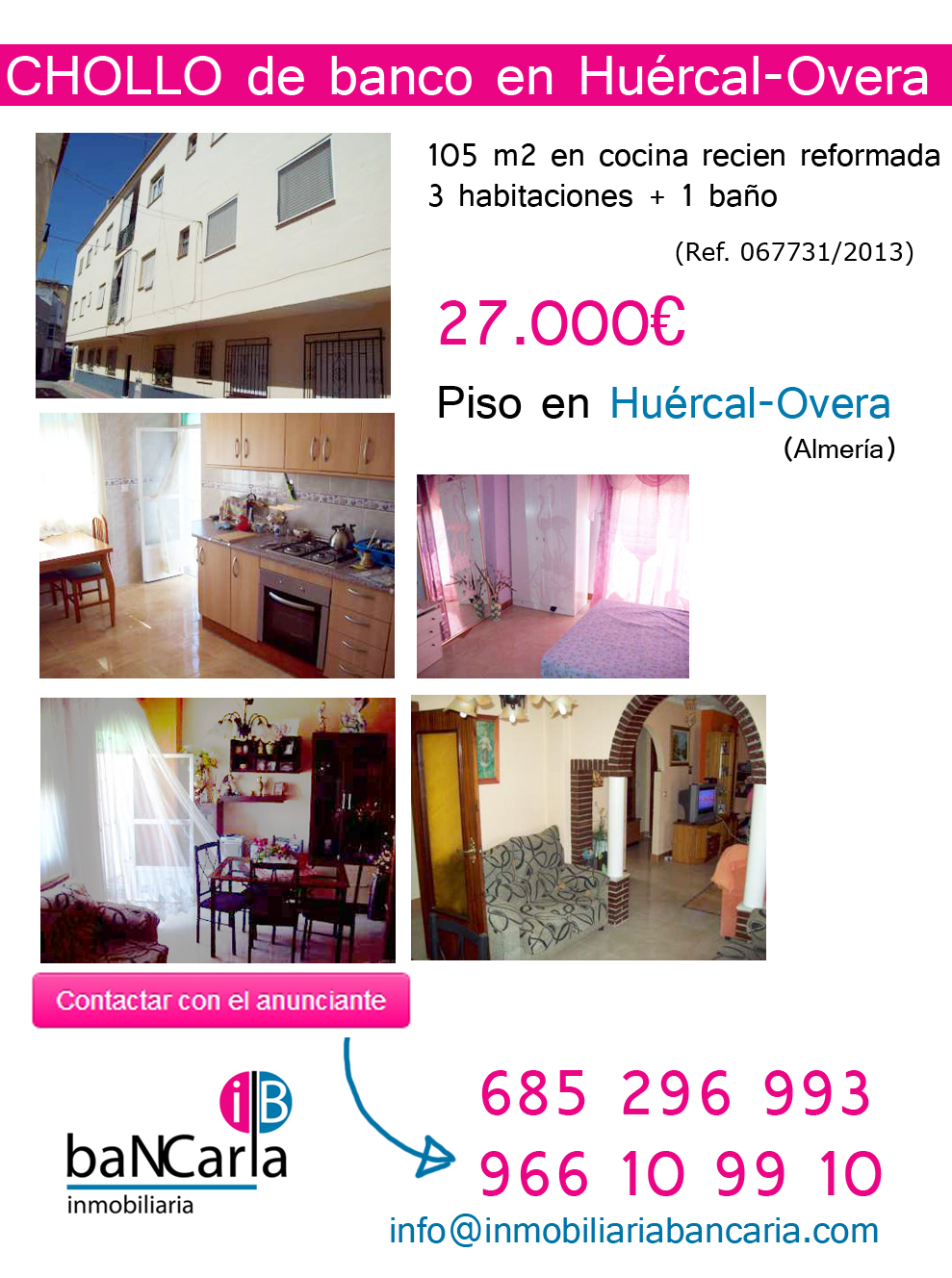 Piso-en-venta-de-banco-en-Huércal-Overa-Almería-Inmobiliaria