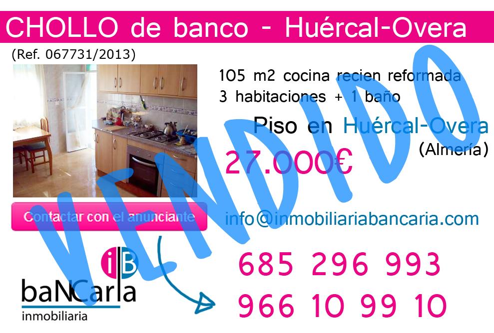Vendido piso en hu rcal overa almer a inmobiliaria for Pisos de bancos en almeria