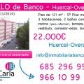 Piso en venta de banco en Huercal-Overa-Almería p