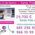 Piso en venta de banco en Santa Pola (Alicante) p
