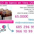 Piso en venta de banco en Vera (Almería)