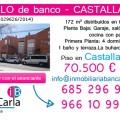 Unifamiliar de Banco a la Venta en Castalla (Alicante) Inmobiliaria Bancaria