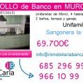 Unifamiliar en venta de banco en Sangonera