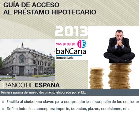 Inmobiliarias en Alicante España procedentes de bancos