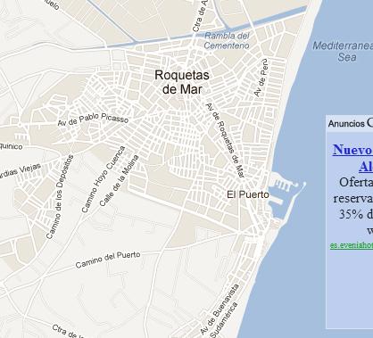 plano de piso de banco Roquetas de Mar